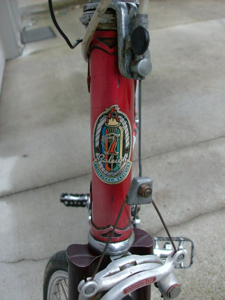 Nameplate of My 1969 Raleigh Grand Prix
