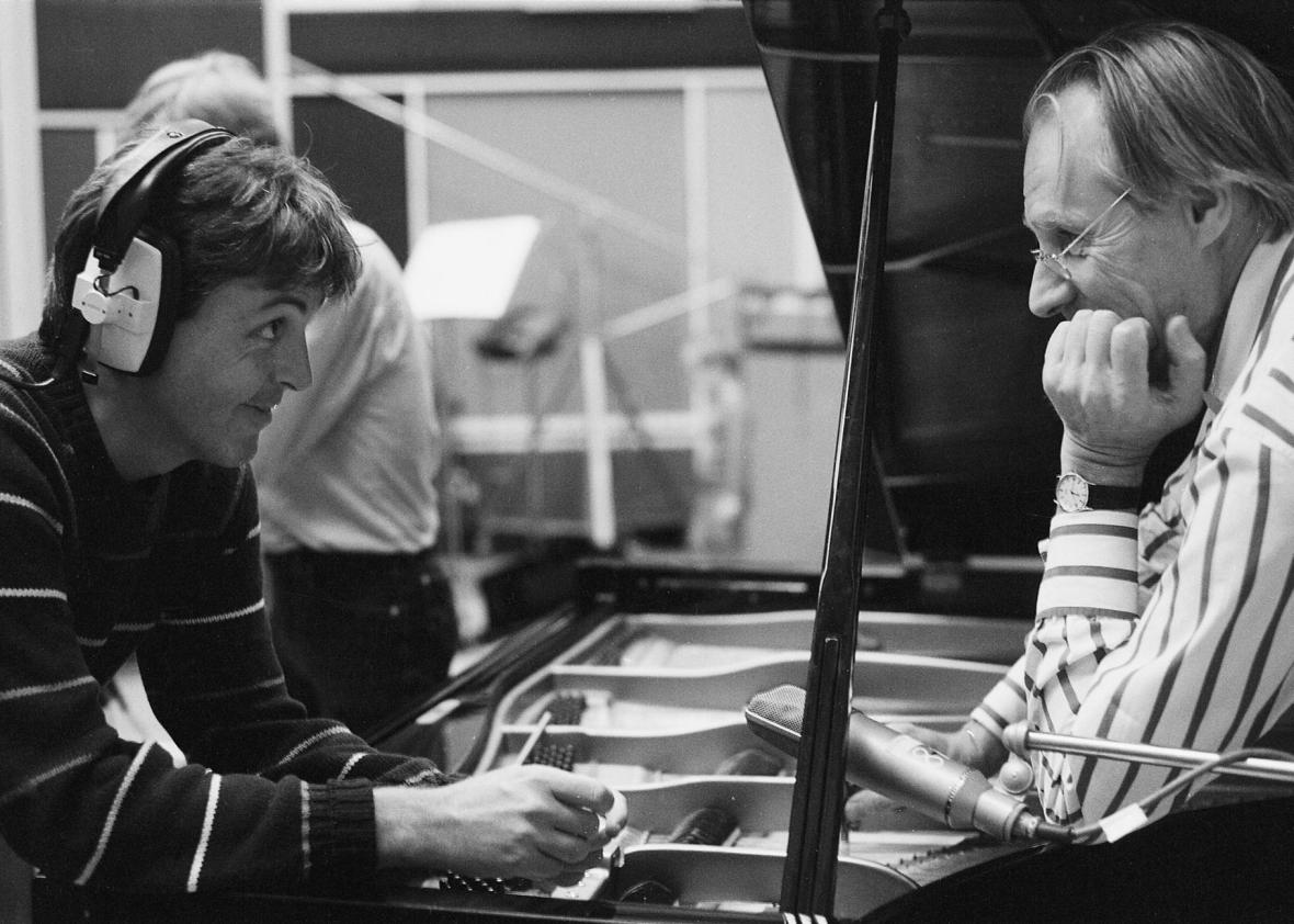 Paul-McCartney-and-George-Martin