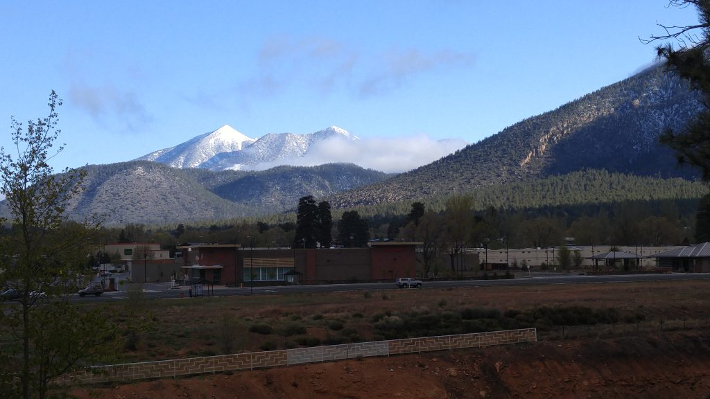 Early morning in Flagstaff