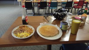Second breakfast in Cimarron